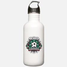 Mexico Soccer Ball Water Bottle