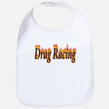 Drag Racing Flame Bib