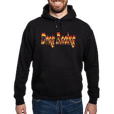 Drag Racing Flame Hoodie
