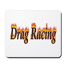 Drag Racing Flame Mousepad