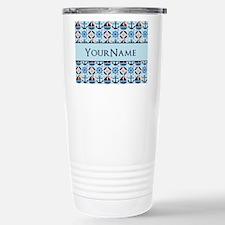Sailor Nautical Monogram Personalized Travel Mug