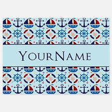 Sailor Nautical Monogram Personalized Invitations