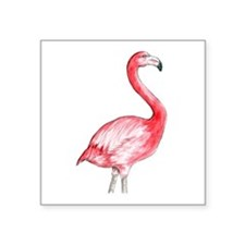 Flamingo Watercolor Sticker