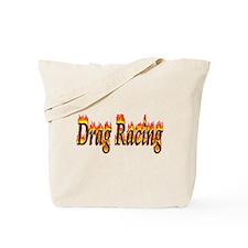Drag Racing Flame Tote Bag