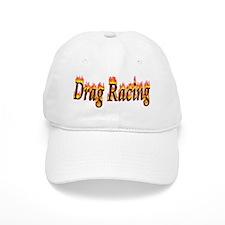 Drag Racing Flame Baseball Baseball Cap
