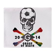 Group of Death Throw Blanket