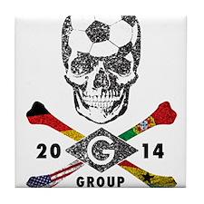 Group of Death Tile Coaster