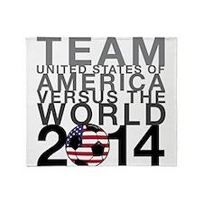 Team USA Throw Blanket