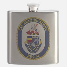 USS Arleigh Burke DDG-51 Flask