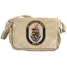 USS Arleigh Burke DDG-51 Messenger Bag