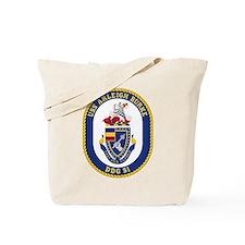 Uss Arleigh Burke Ddg-51 Tote Bag