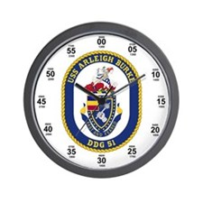 USS Arleigh Burke DDG-51 Wall Clock