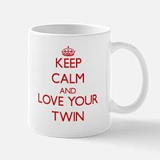 Keep Calm and Love your Twin Mugs