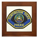 Huntington Park Police Framed Tile