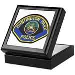 Huntington Park Police Keepsake Box
