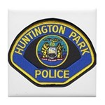 Huntington Park Police Tile Coaster