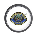 Huntington Park Police Wall Clock