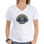 Huntington Park Police Women's V-Neck T-Shirt