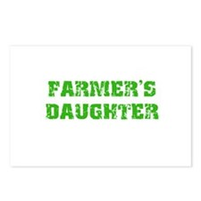 Cute Green tractors Postcards (Package of 8)