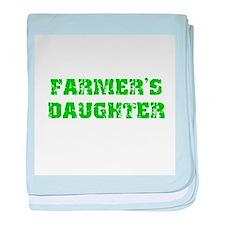 Cute Farmer girl baby blanket