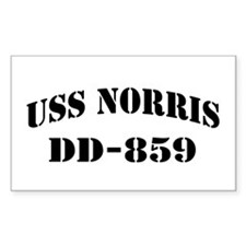 USS NORRIS Decal