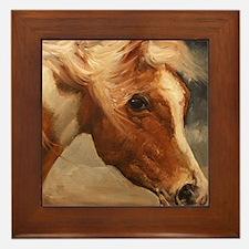 Assateague Pony Framed Tile