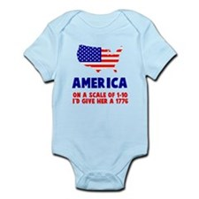 America Scale Body Suit
