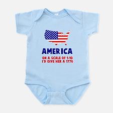 America Scale Body Suit
