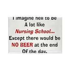 Nursing Student Humor Magnets