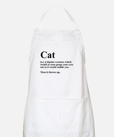Cat Definition Apron