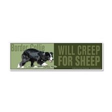 Unique Border collie Car Magnet 10 x 3