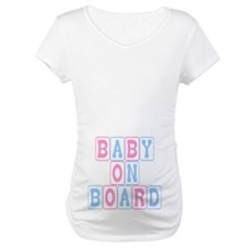 Baby On Board (blocks) Shirt
