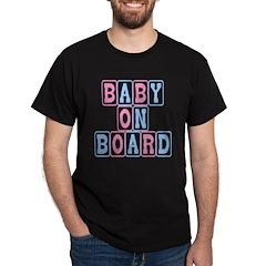 Baby On Board (blocks) T-Shirt