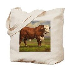 Braford Bull Tote Bag