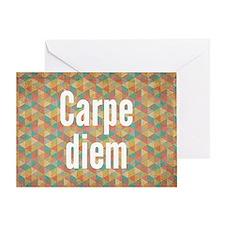 Carpe-diem-resized Greeting Cards