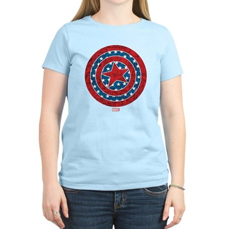 Stars and Stripes Captain Am Women's Light T-Shirt