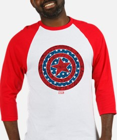 Stars and Stripes Captain America Baseball Jersey