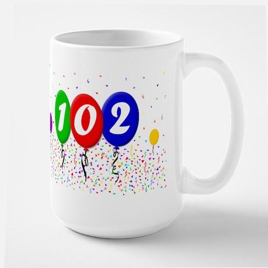 102nd Birthday Mugs