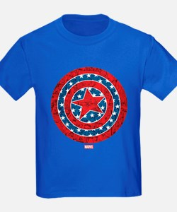 Stars and Stripes Captain Americ T
