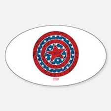 Stars and Stripes Captain America Decal