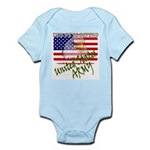 American Eagle US ARMY Infant Creeper
