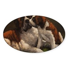 Unique Saint bernard Decal