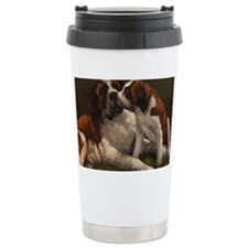 Funny The saints Travel Mug