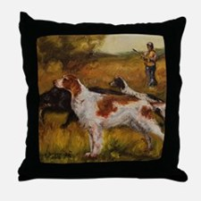 Setters Throw Pillow