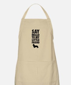 Say Hello to My Little Friend Welsh Corgi Apron