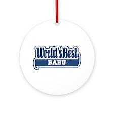 WB Dad [Ladino] Ornament (Round)