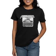 Unique Manual typewriter Tee