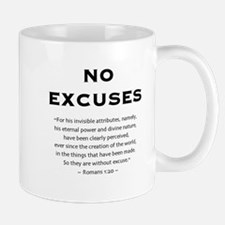 No Excuses - Mug