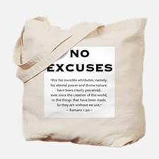 No Excuses - Tote Bag