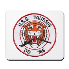 USS TAUSSIG Mousepad